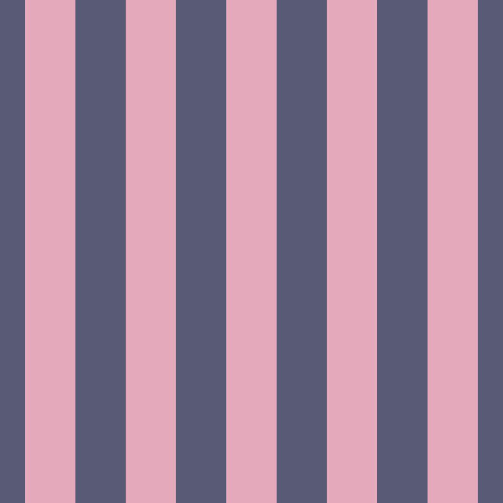 Albany Stripe Pink Blue Pink / Navy Wallpaper - Product code: 265049