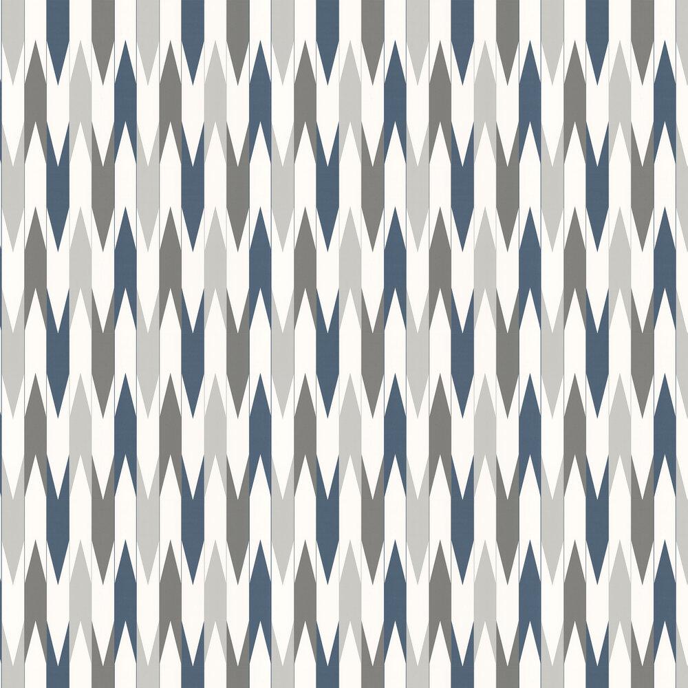 Layla Faye Arrows  Slate Azure Wallpaper - Product code: LF1028