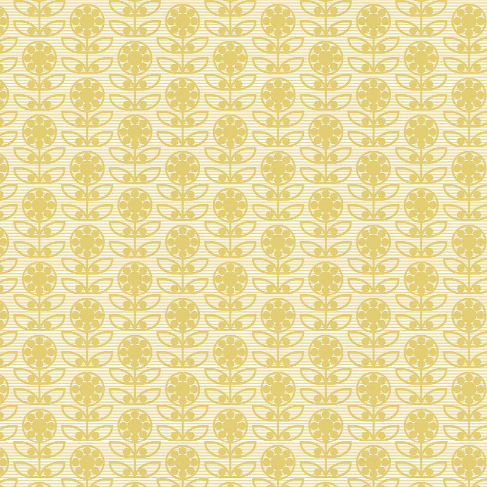 Layla Faye Dotty Flower  Light Olive Wallpaper - Product code: LF1033
