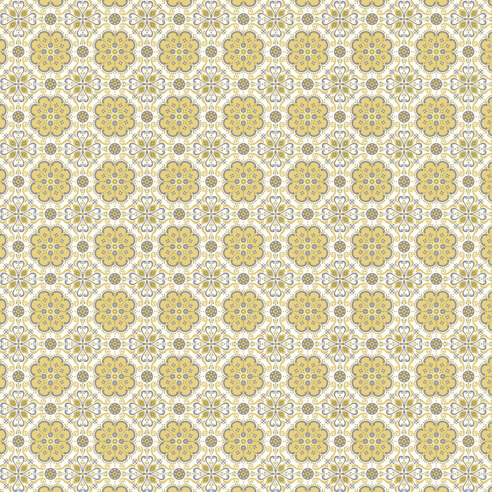 Layla Faye Folksy  Melting Meadows Wallpaper - Product code: LF1021