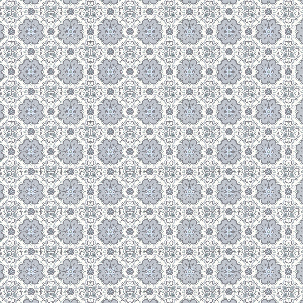 Layla Faye Folksy  Moonlight Garden Wallpaper - Product code: LF1023