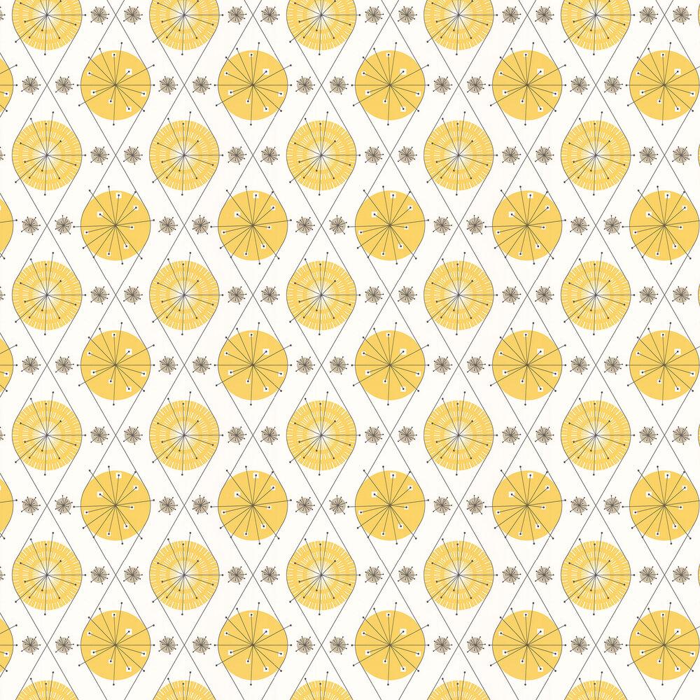 Layla Faye Botanical Bursts  Summer Yellow Wallpaper - Product code: LF1004