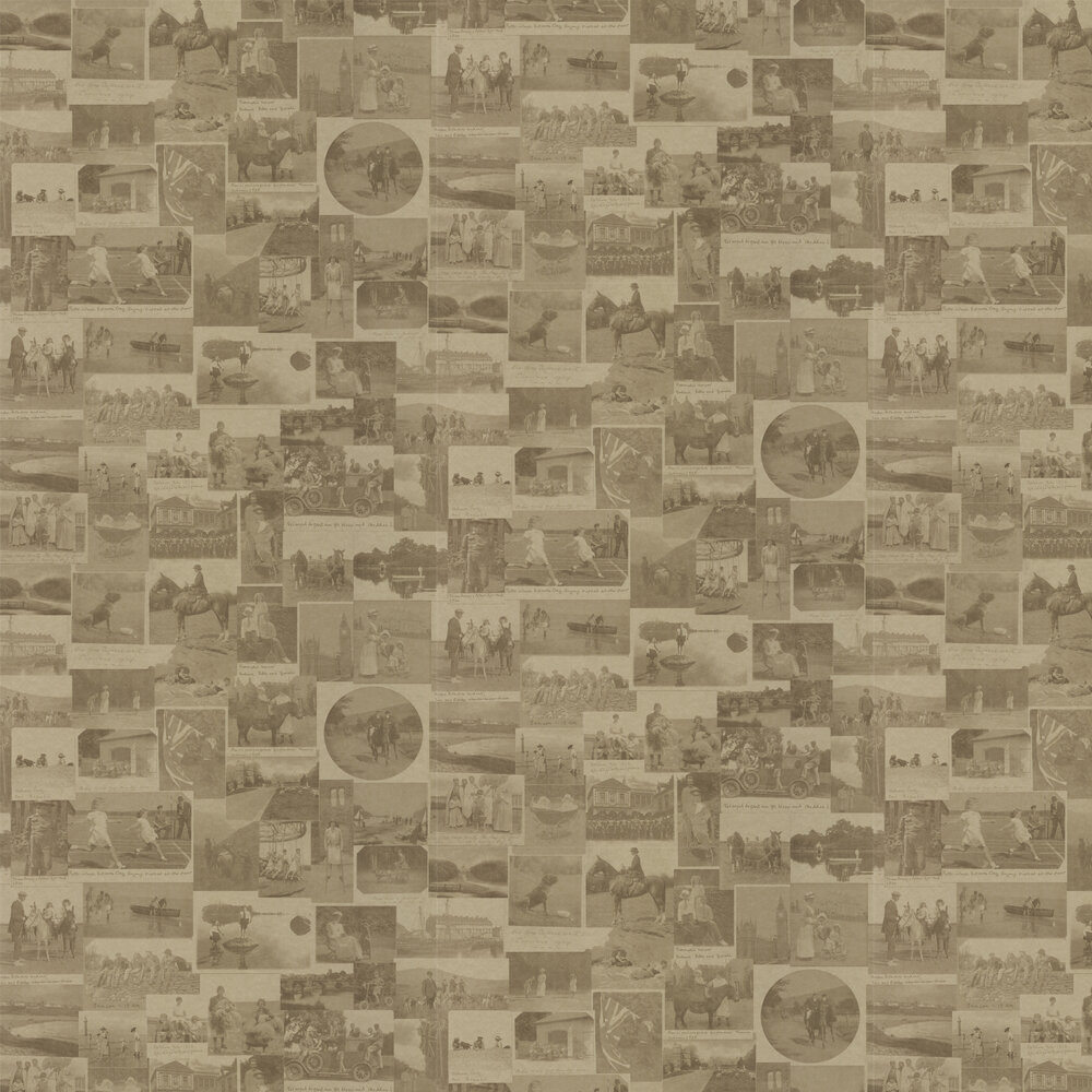 Barneby Gates This Other Eden Vintage Gold Vintage Metallic Gold Wallpaper - Product code: BG0100101
