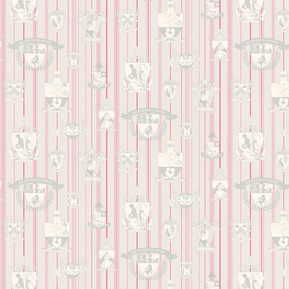 Carpe Noctem Wallpaper - Hot Pink - by Barneby Gates