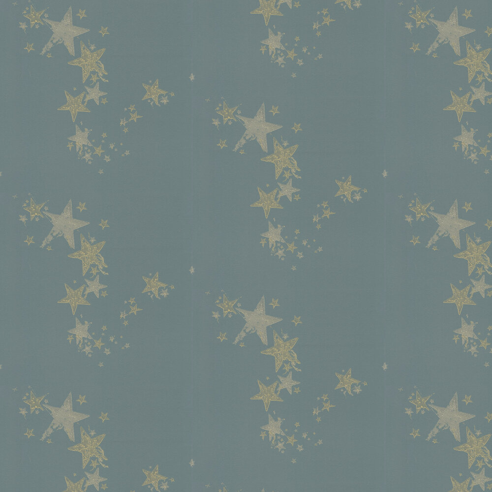 All Star Wallpaper - Gunmetal - by Barneby Gates
