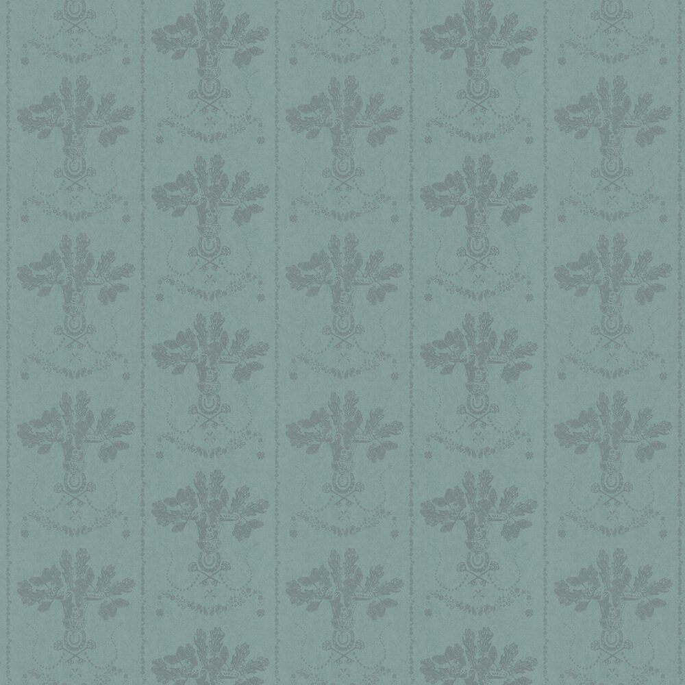 Lucky Charms Graphite Wallpaper - by Barneby Gates