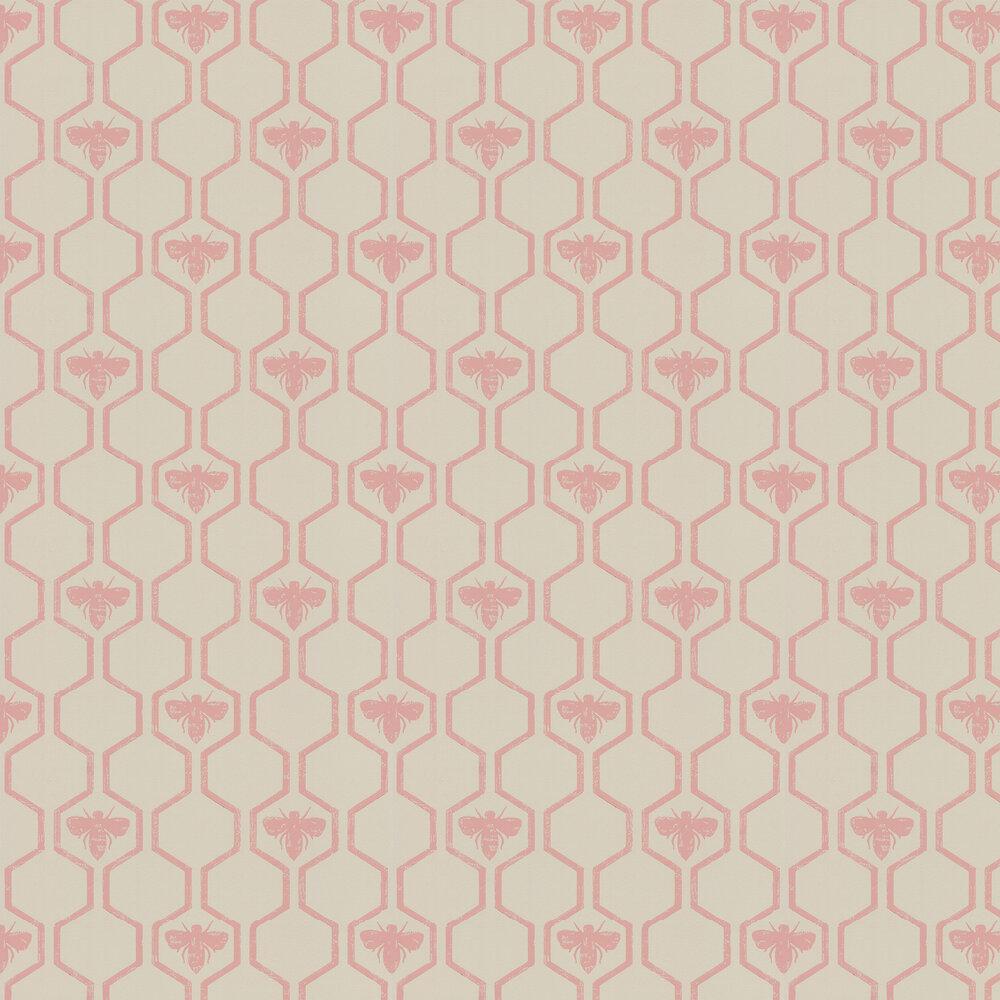 Honey Bees Rose Wallpaper - by Barneby Gates