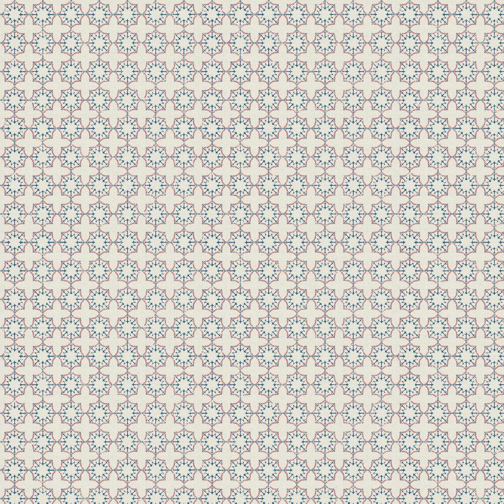 Anchor Tile Red/ White/ Blue