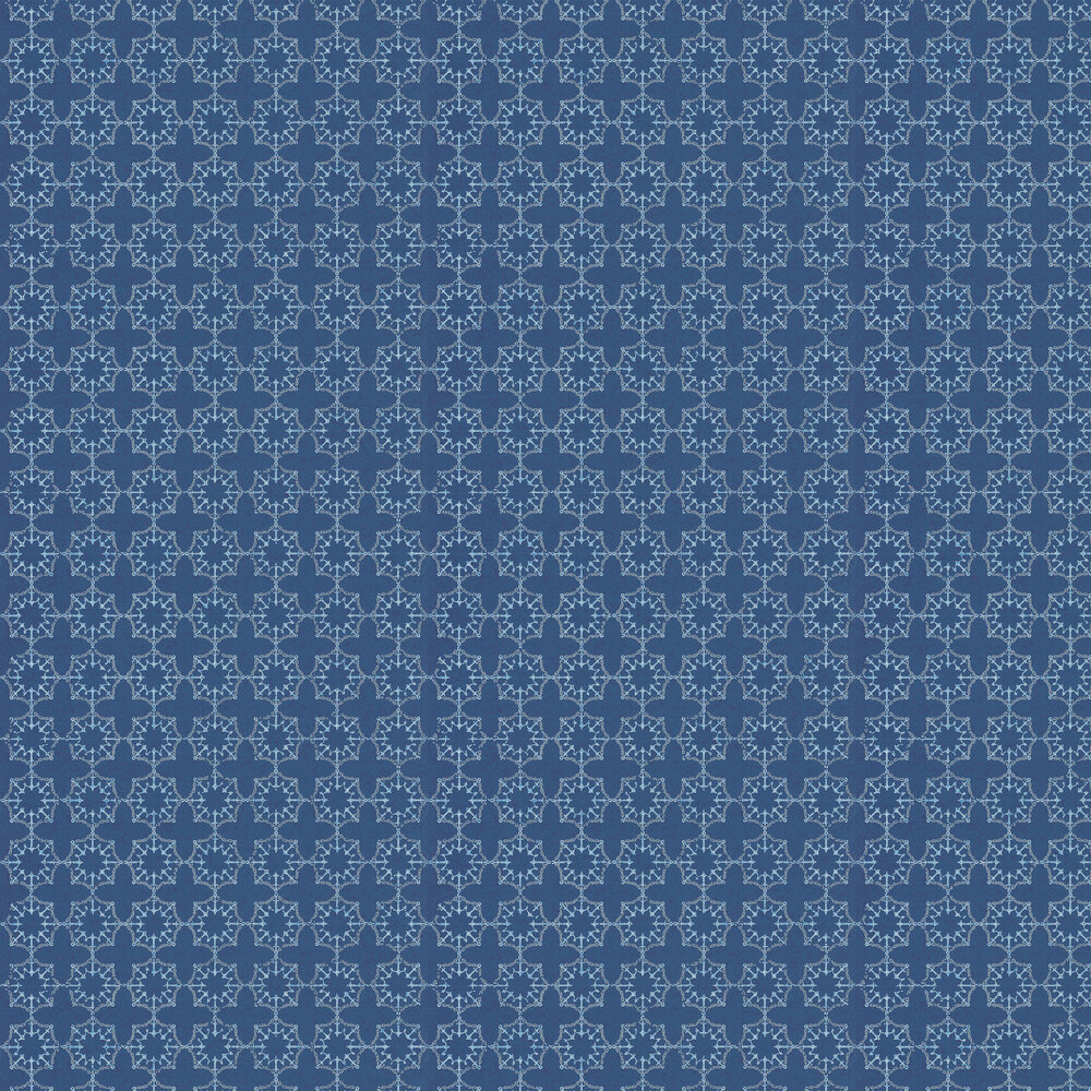 Anchor Tile Marine Wallpaper - Blue - by Barneby Gates