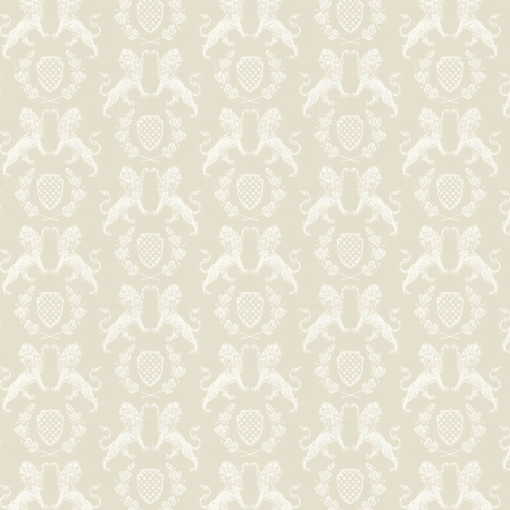 Heraldic Lion Stone Wallpaper - by Barneby Gates