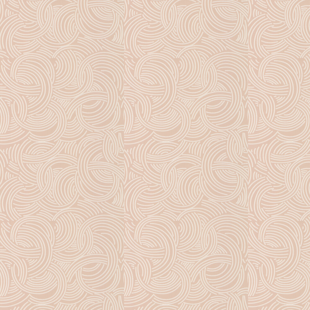 Farrow & Ball Tourbillon  Pale Pink Wallpaper - Product code: BP 4803