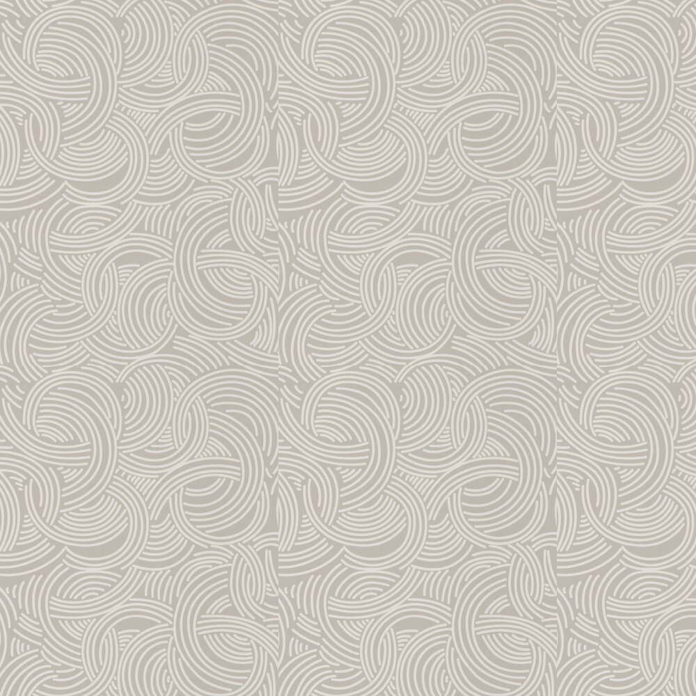 Farrow & Ball Tourbillon  Grey Wallpaper - Product code: BP 4802