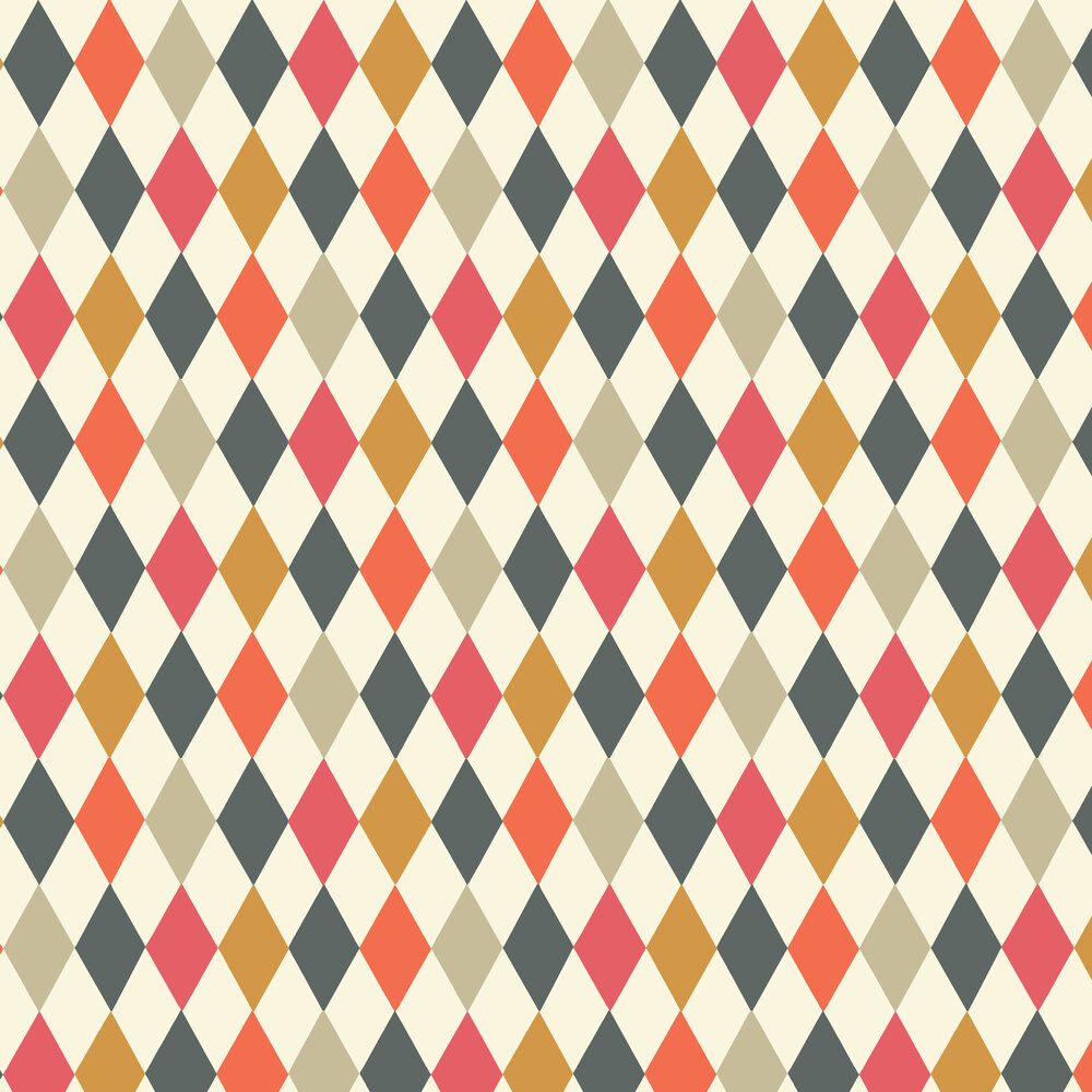 Cole & Son Punchinello Mult-coloured Wallpaper - Product code: 103/2006