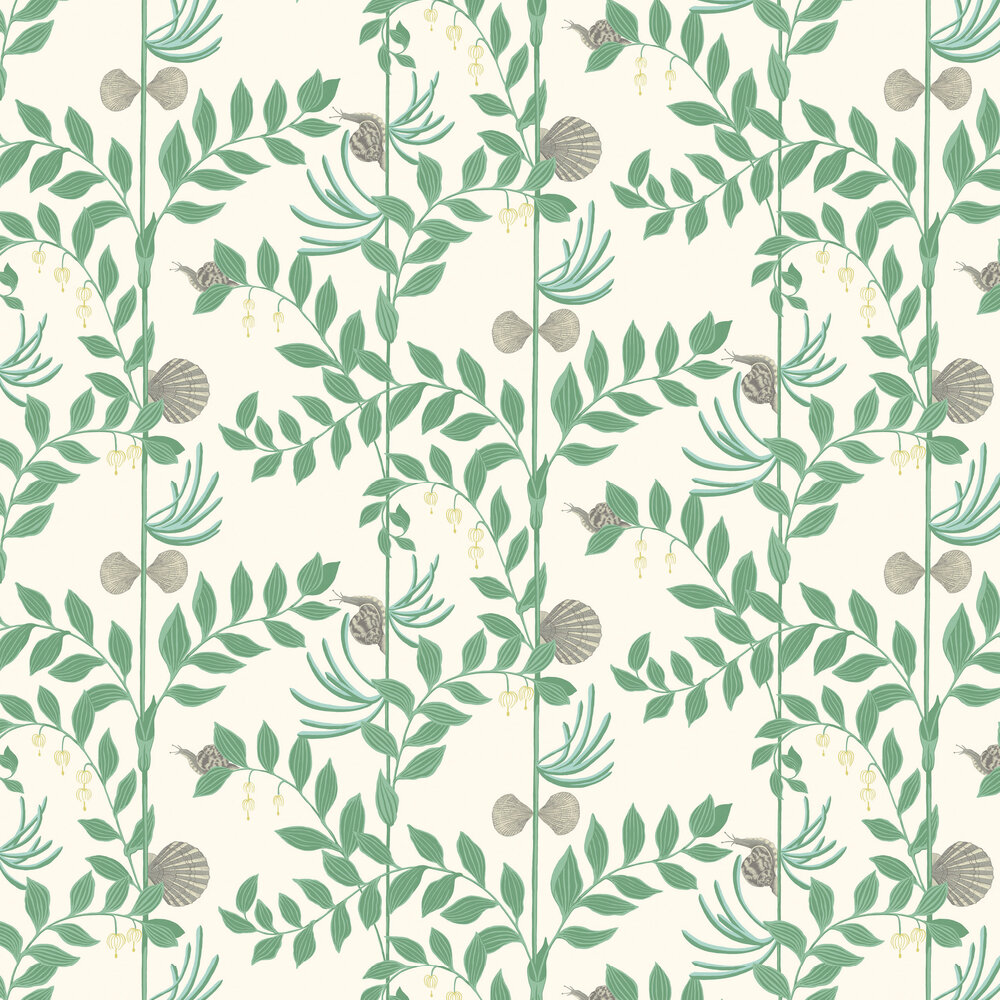 Secret Garden Wallpaper - Dark Green - by Cole & Son