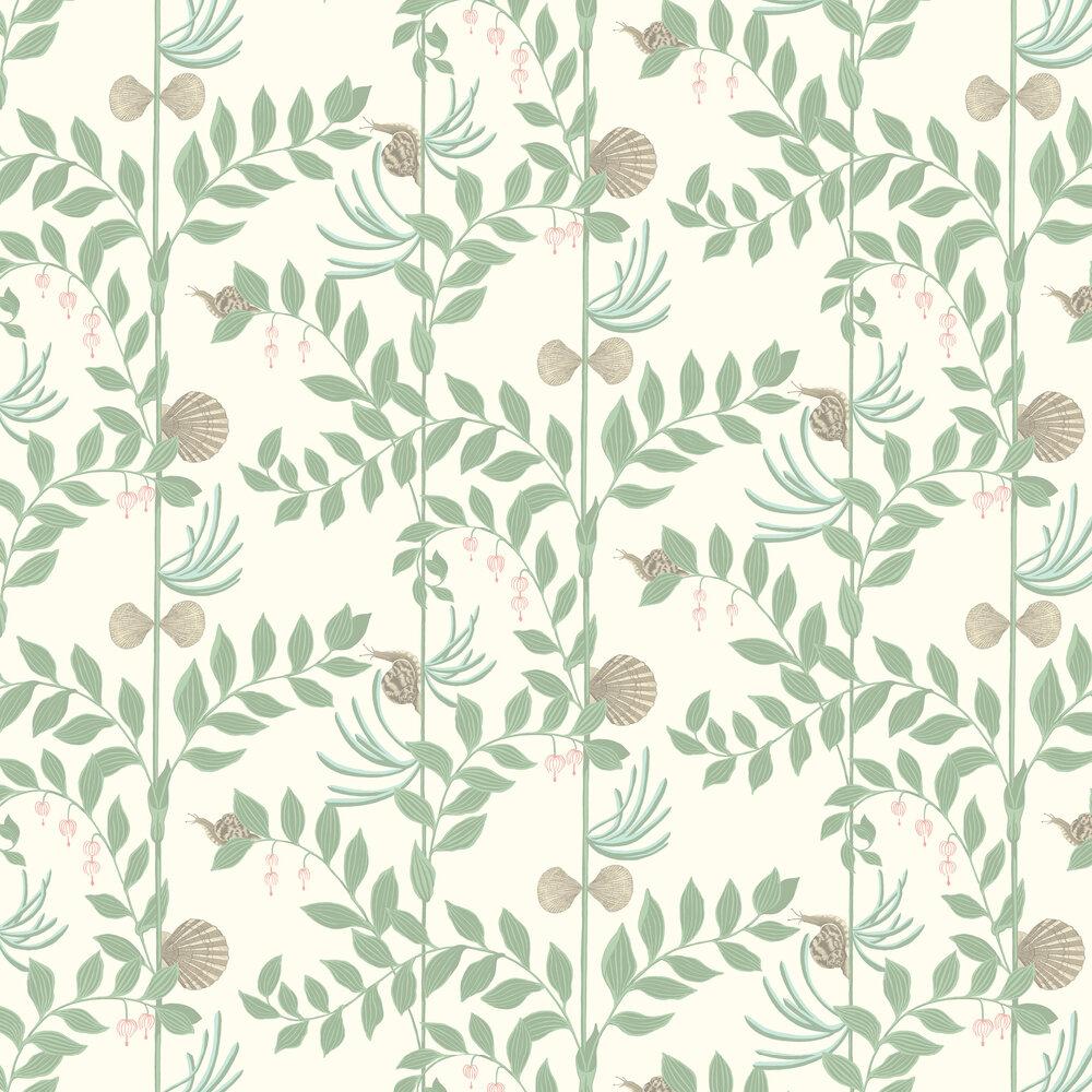 Secret Garden Wallpaper - Soft Green - by Cole & Son
