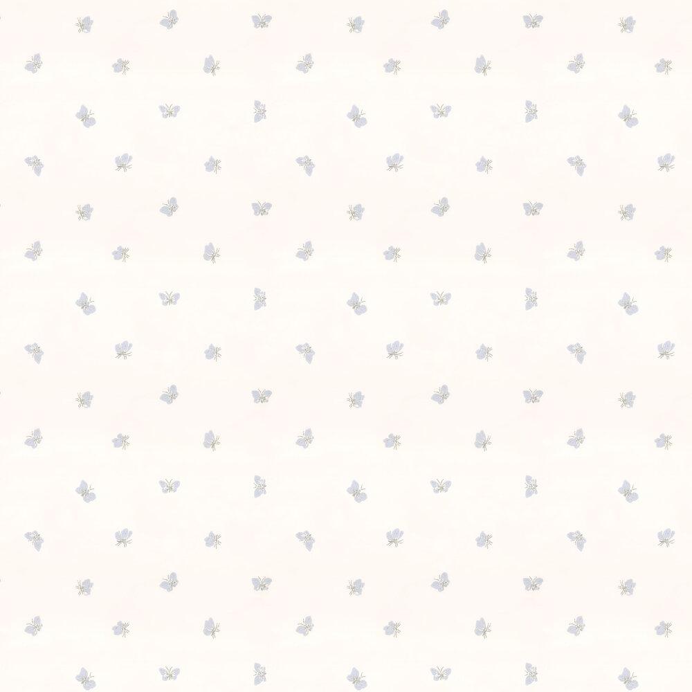 Cole & Son Peaseblossom White & Lilac Wallpaper - Product code: 103/10033