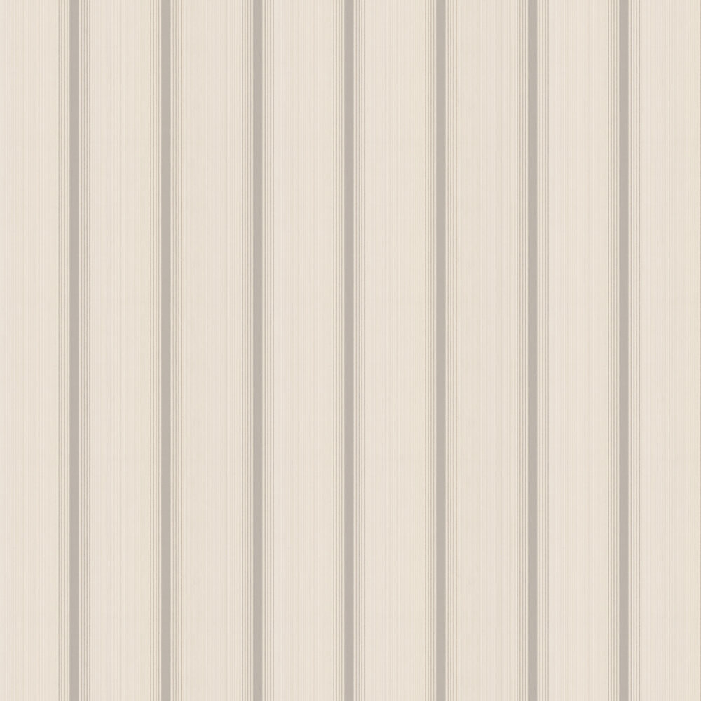 Little Greene Cavendish Stripe Brush Stone Wallpaper - Product code: 0286CVBRSTO