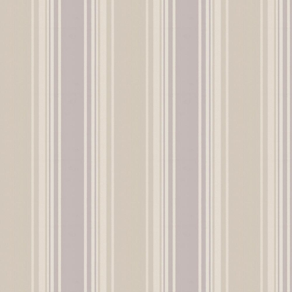 Tented Stripe Wallpaper - Dawn - by Little Greene