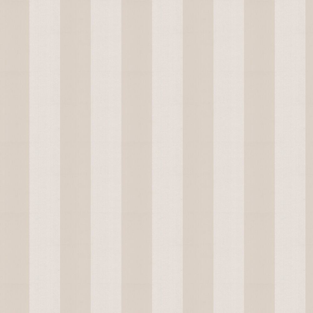 Elephant Stripe Wallpaper - Sharp Stone - by Little Greene