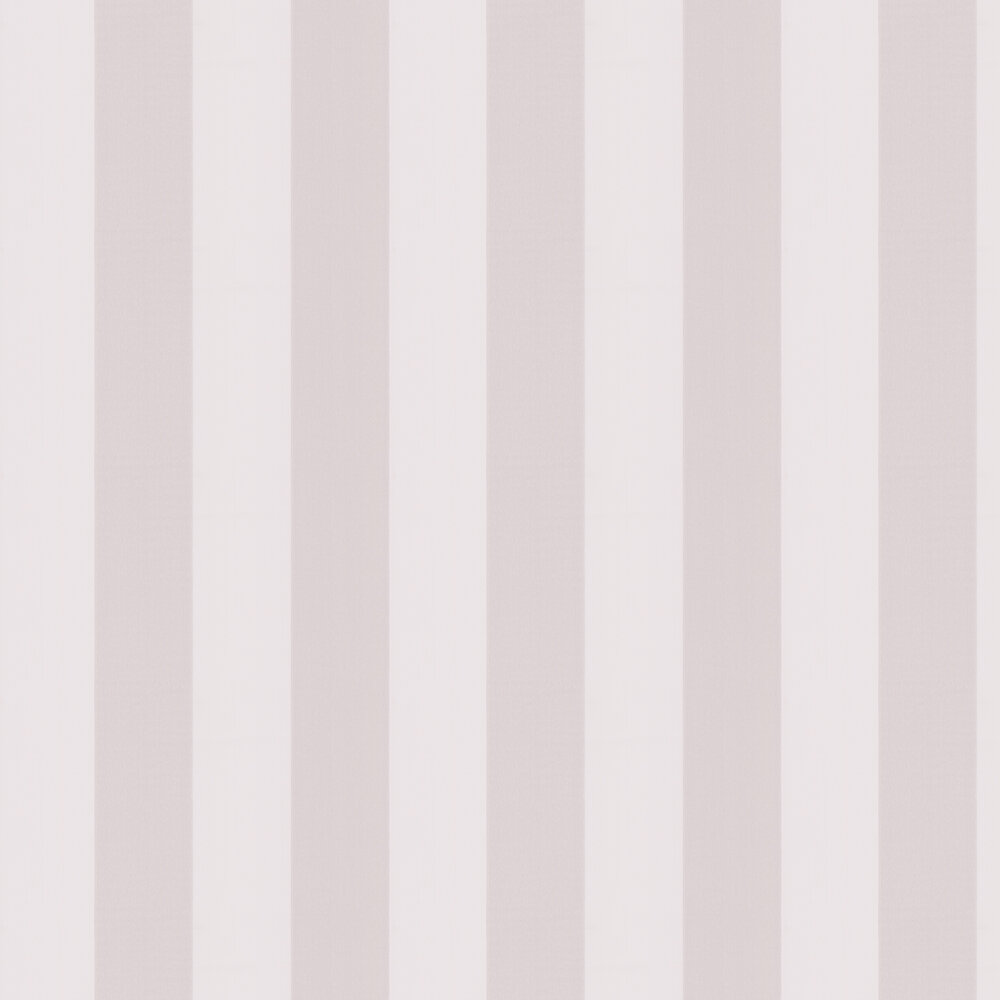 Little Greene Broad Stripe Lilac Grey Wallpaper - Product code: 0286BSLILAC