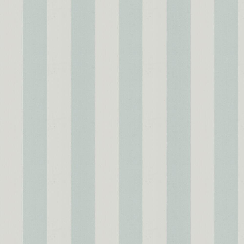 Broad Stripe Wallpaper - Menthe - by Little Greene