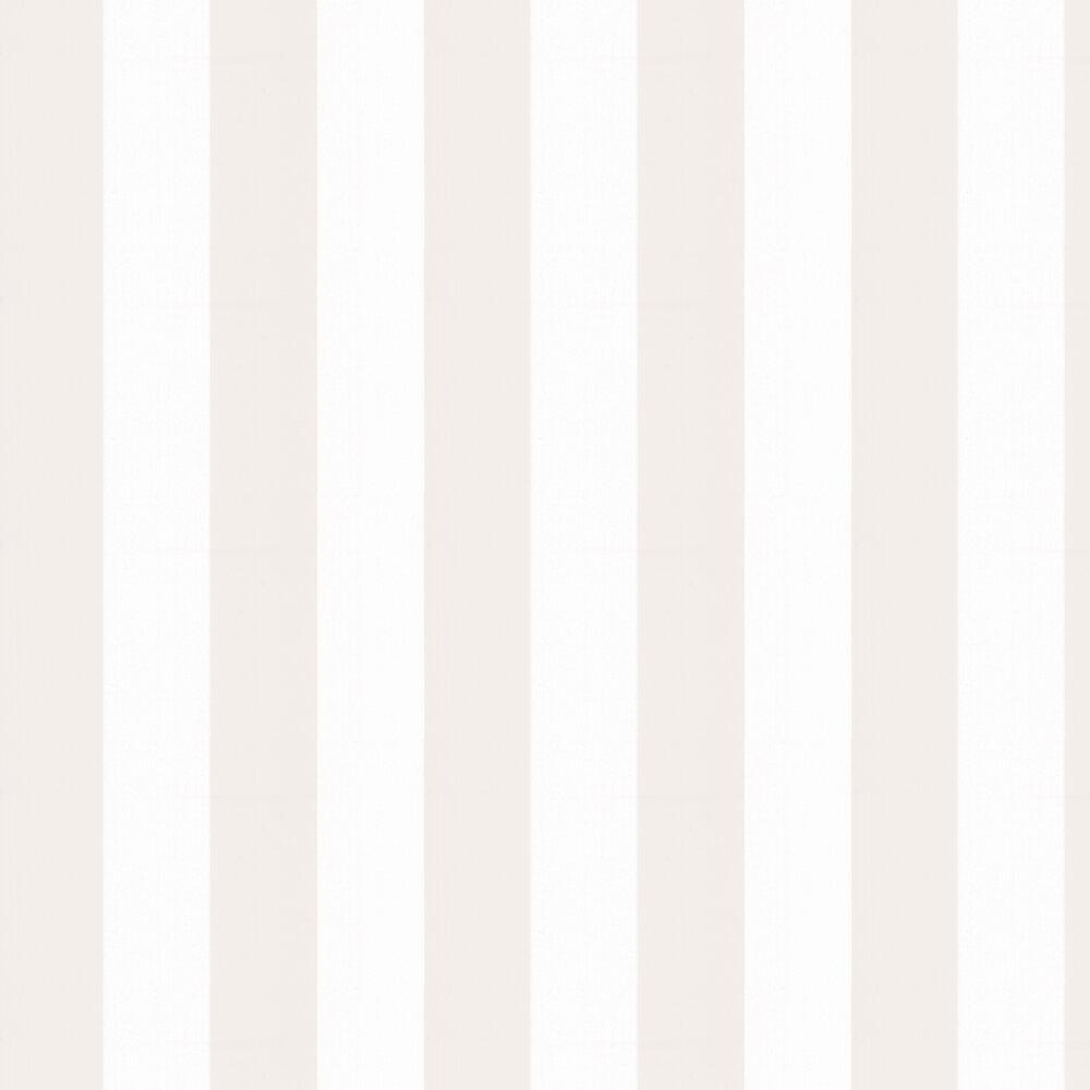 Broad Stripe Wallpaper - Icing - by Little Greene