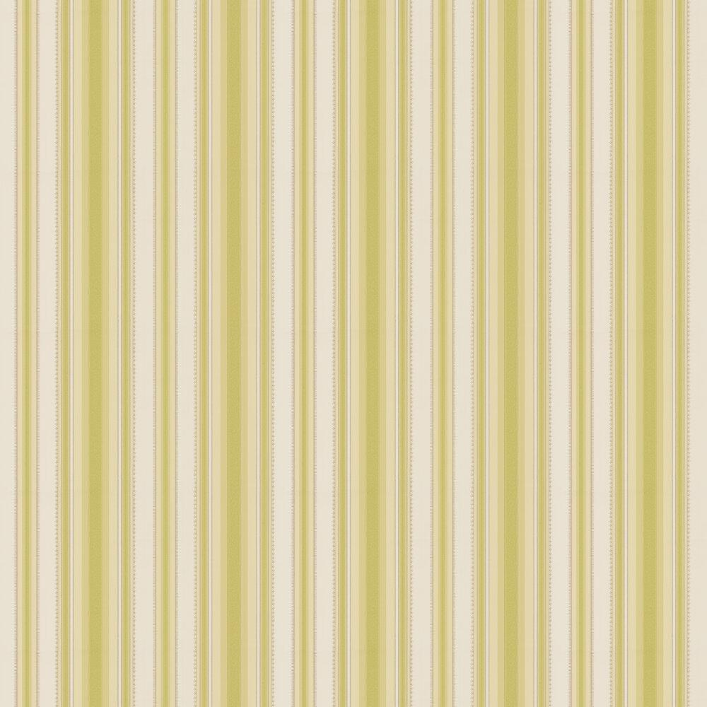 Colonial Stripe Wallpaper - Soda - by Little Greene