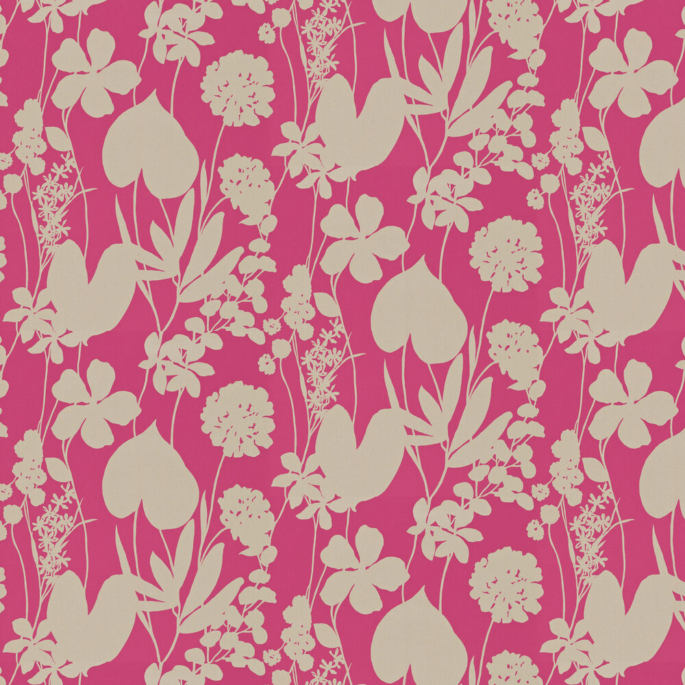 Harlequin Nalina Flamingo Wallpaper - Product code: 111048