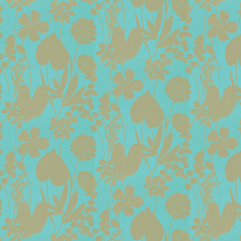 Harlequin Nalina Lagoon Wallpaper - Product code: 111049