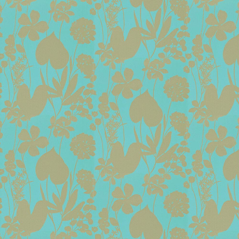Harlequin Nalina Lagoon Wallpaper - Product code: 111049