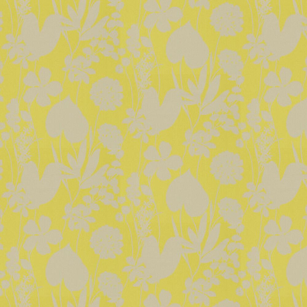 Nalina Wallpaper - Zest - by Harlequin
