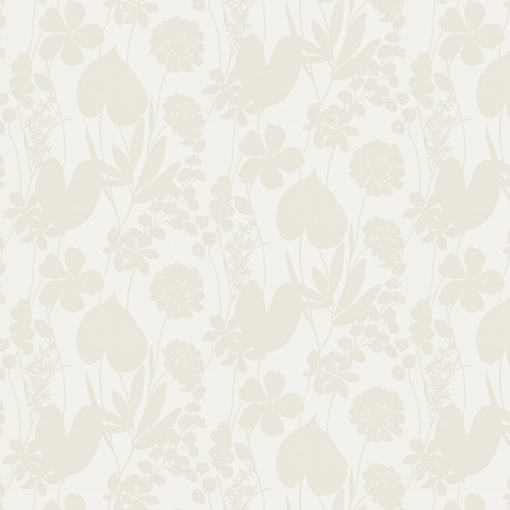 Nalina Wallpaper - Pearl - by Harlequin