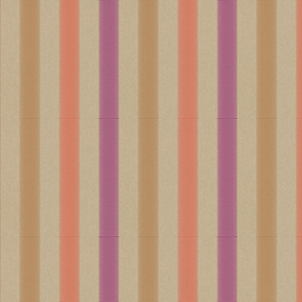 Tambo Wallpaper - Papaya - by Harlequin