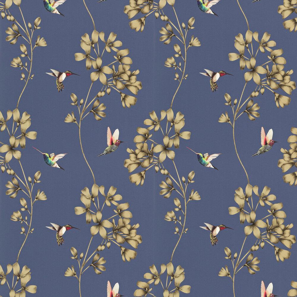 Harlequin Amazilia Indigo Wallpaper - Product code: 111059