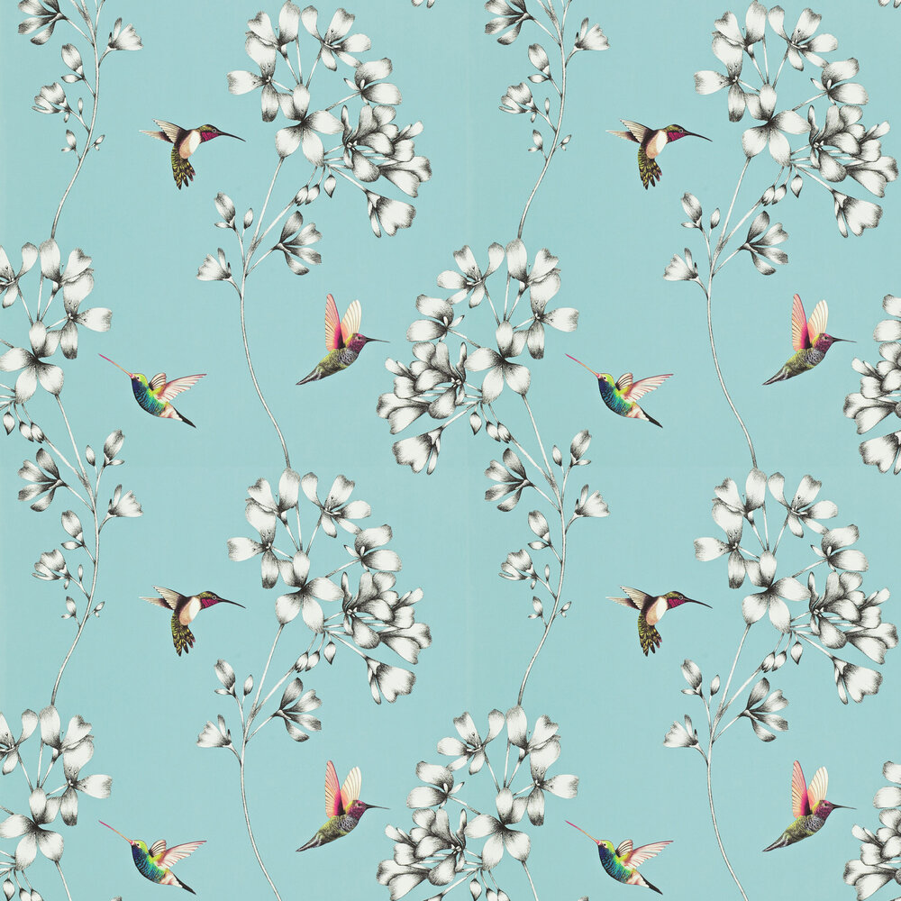 Amazilia Wallpaper - Sky - by Harlequin