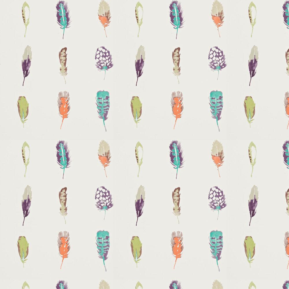 Limosa Wallpaper - Papaya - by Harlequin