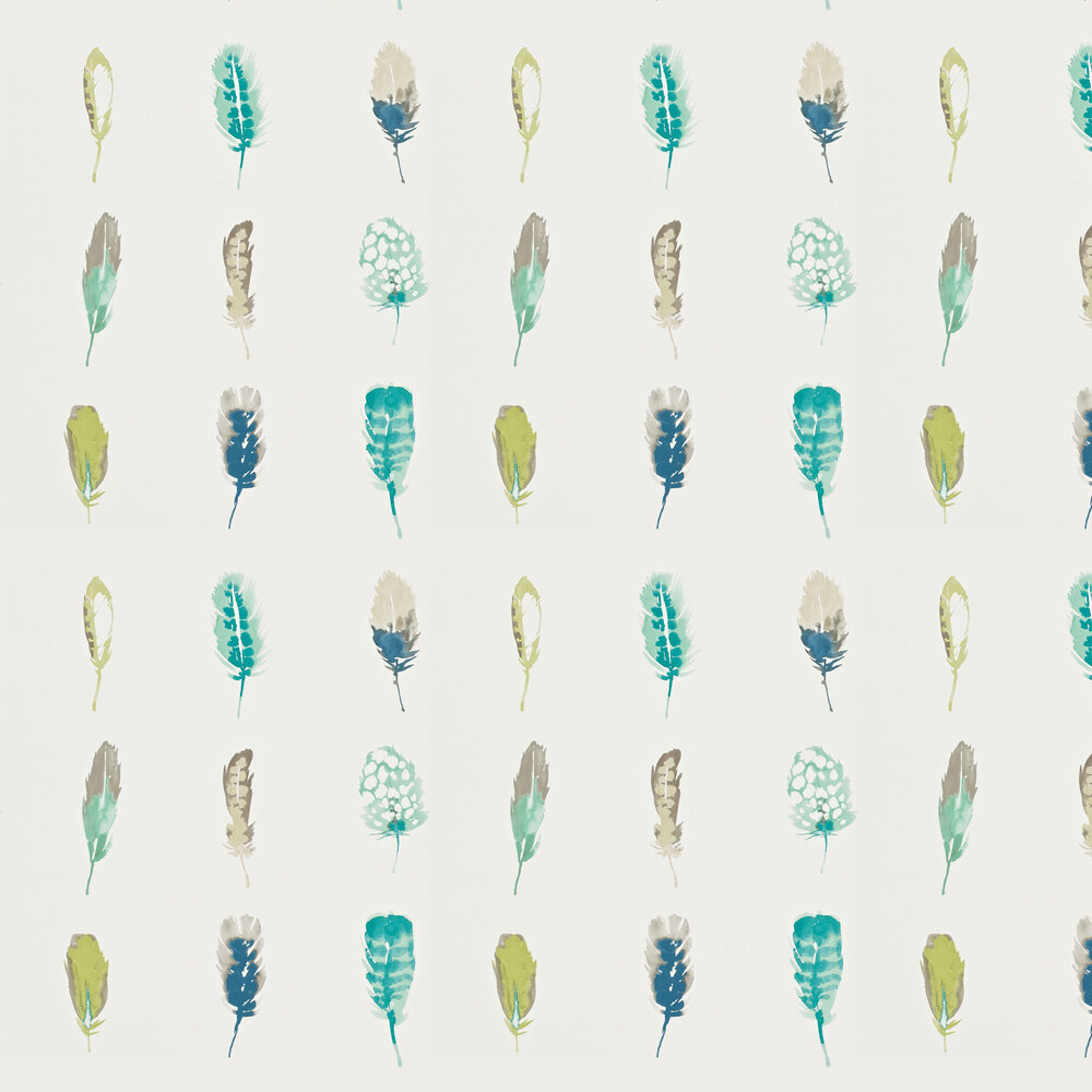 Limosa Wallpaper - Lagoon - by Harlequin