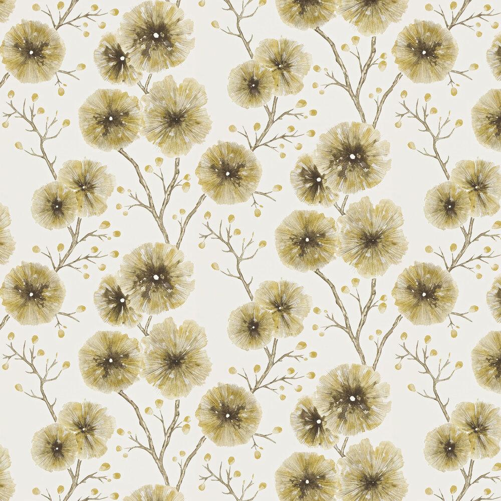 Harlequin Kabala Mustard Wallpaper - Product code: 111080