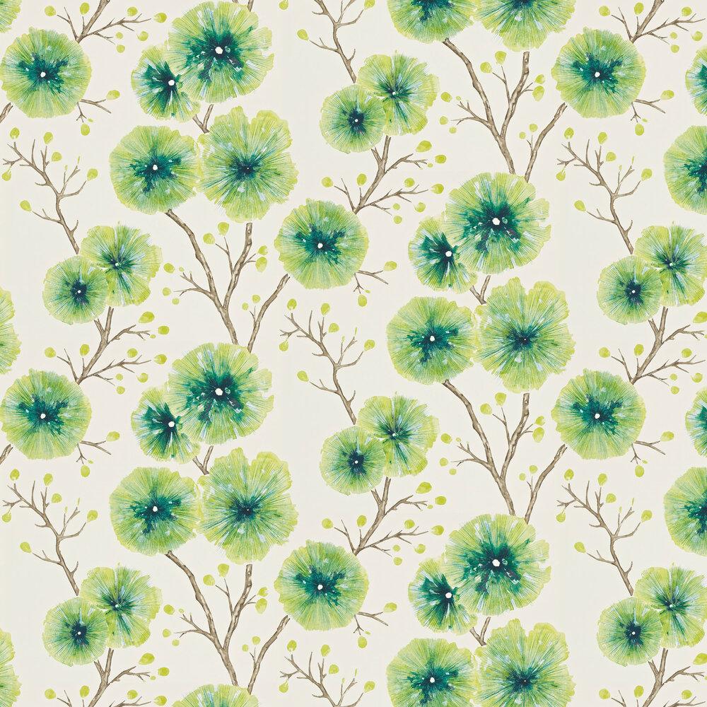 Kabala Wallpaper - Gooseberry - by Harlequin
