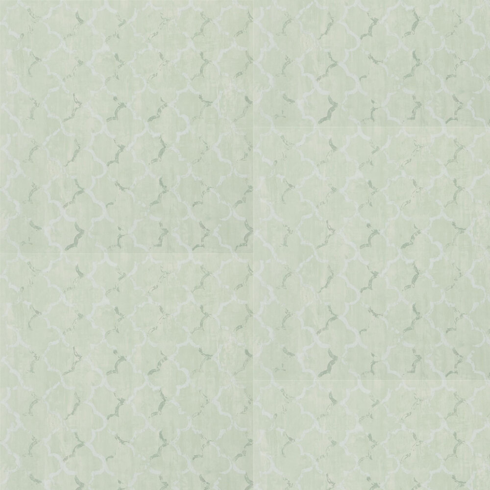 Designers Guild Chinese Trellis Pale Jade Wallpaper - Product code: PDG650/03