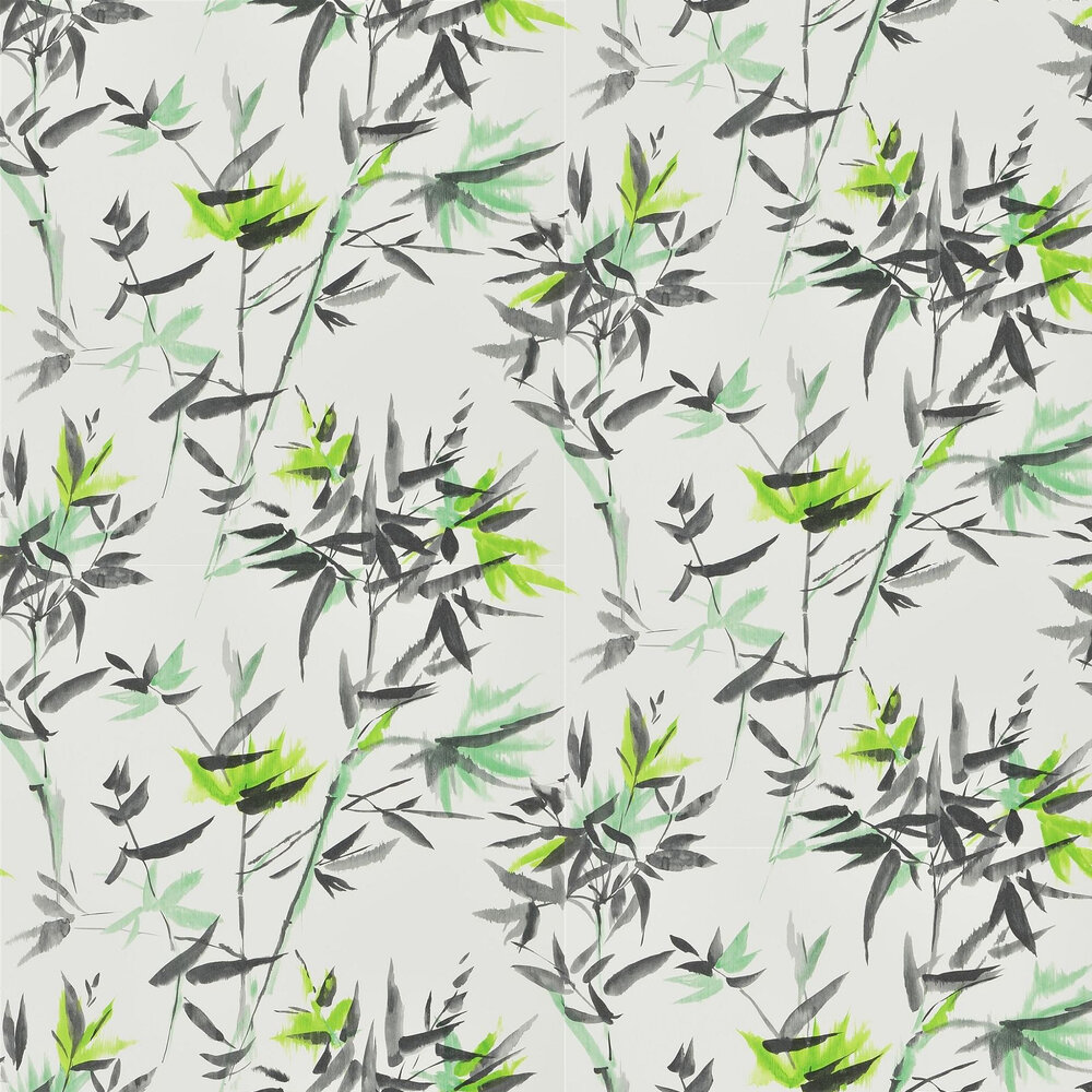 Designers Guild Bamboo Lime Wallpaper - Product code: PDG652/03