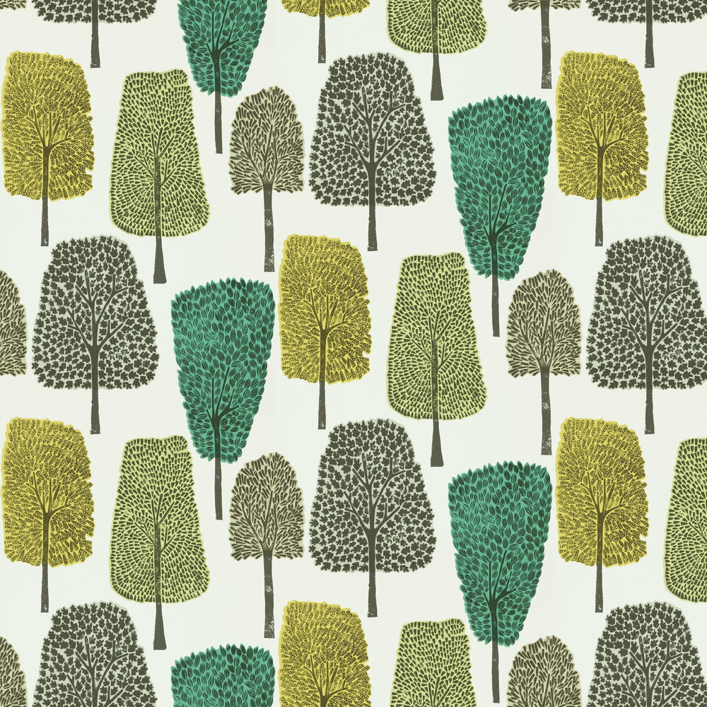 Scion Cedar  Slate, Apple and Ivy Wallpaper - Product code: 111083
