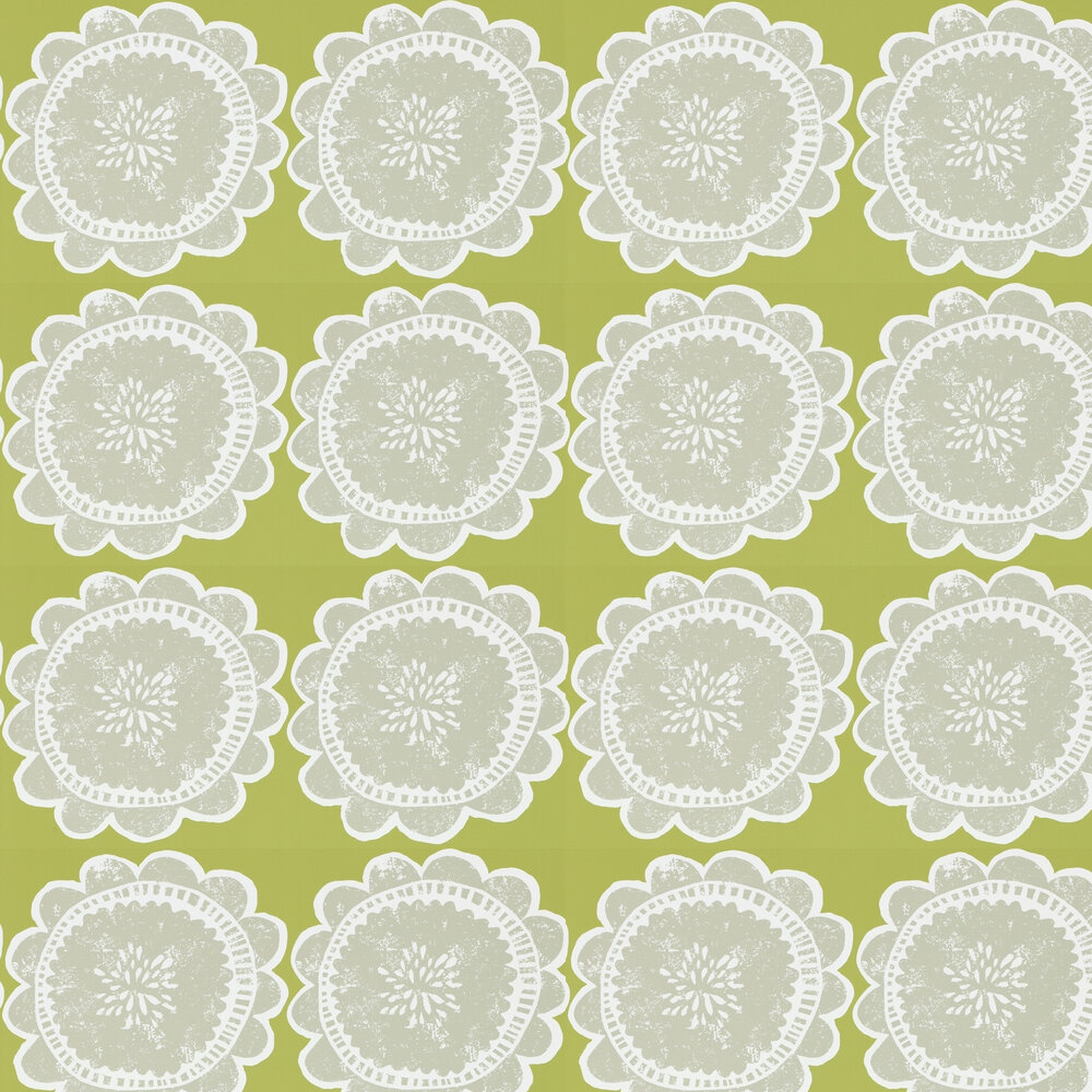 Scion Lotta Apple and Slate Wallpaper - Product code: 111096