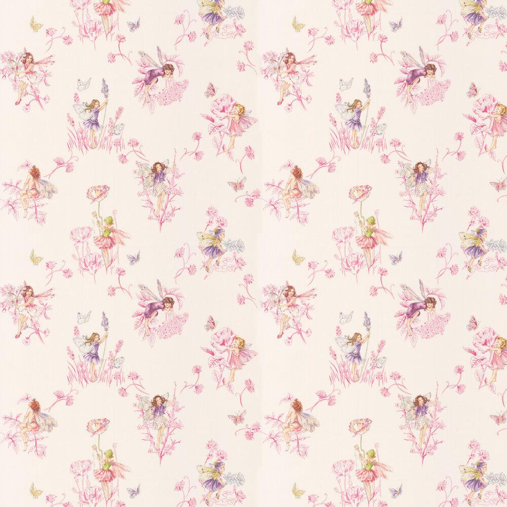 Jane Churchill Wallpaper Meadow Flower Fairies J124W-01