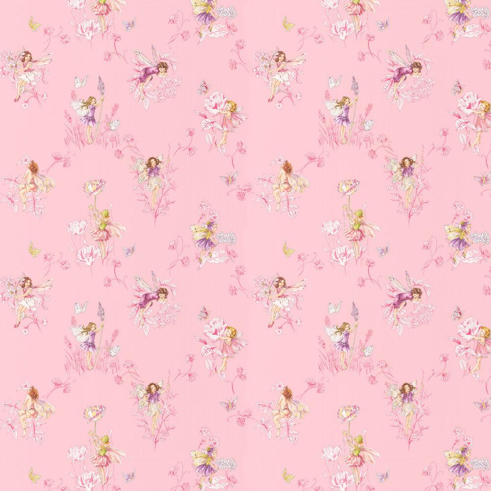 Jane Churchill Wallpaper Meadow Flower Fairies J124W-02
