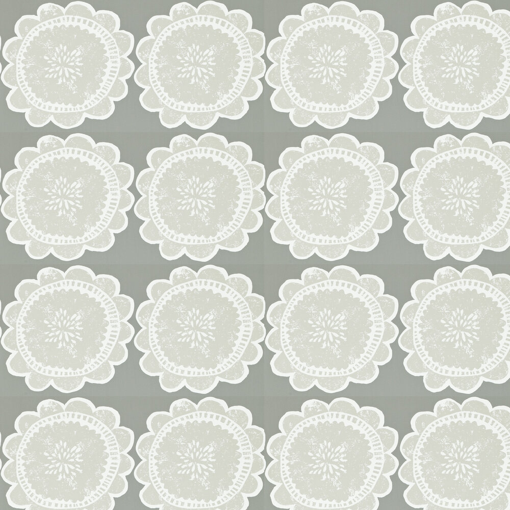 Scion Lotta Mink and Taupe Wallpaper - Product code: 111099