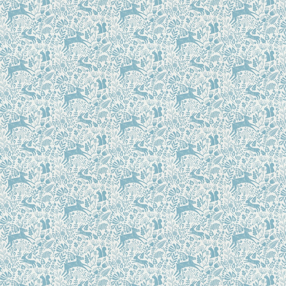 Scion Kelda Cobalt Wallpaper - Product code: 111107