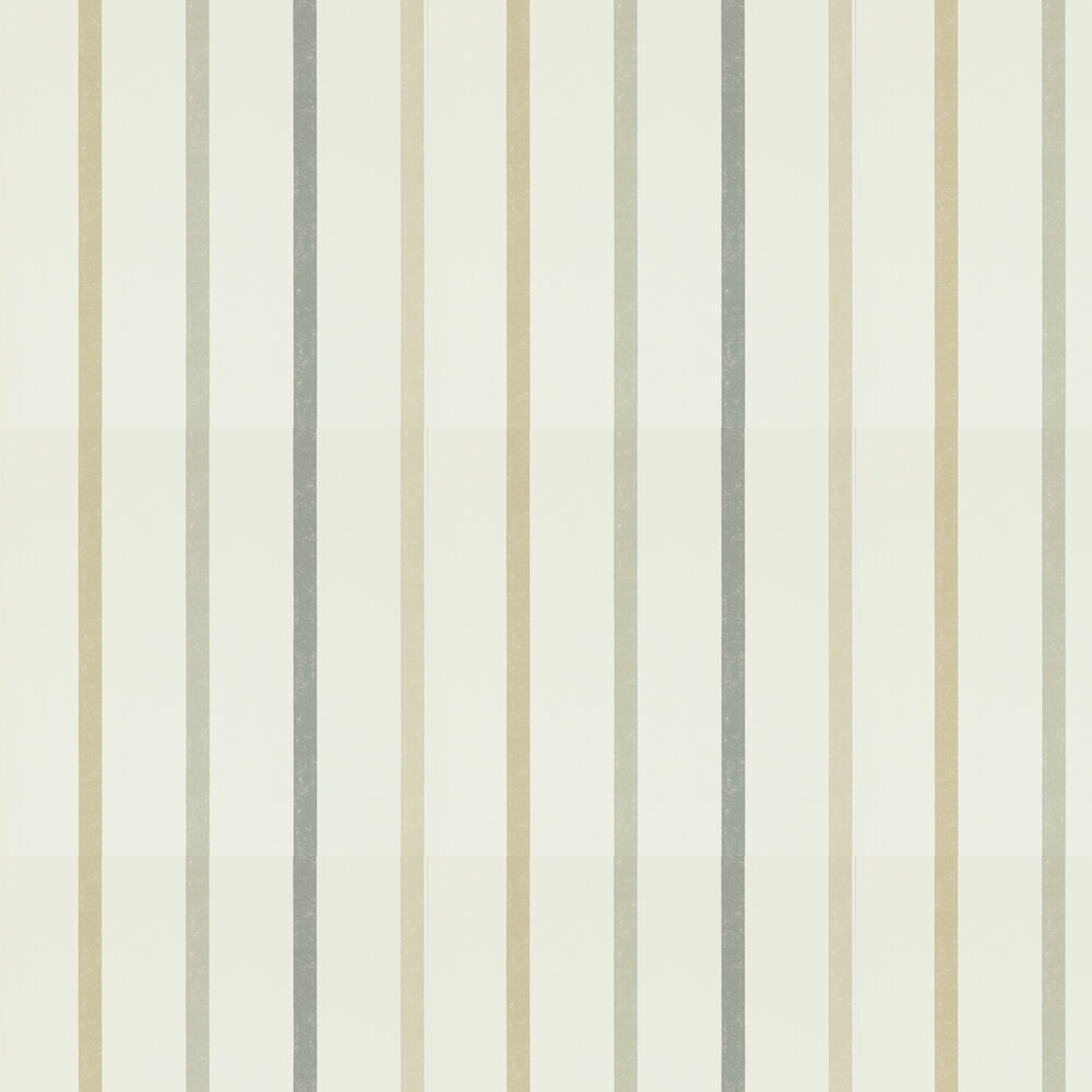 Hoppa Stripe Wallpaper - Mink, Taupe and Charcoal - by Scion