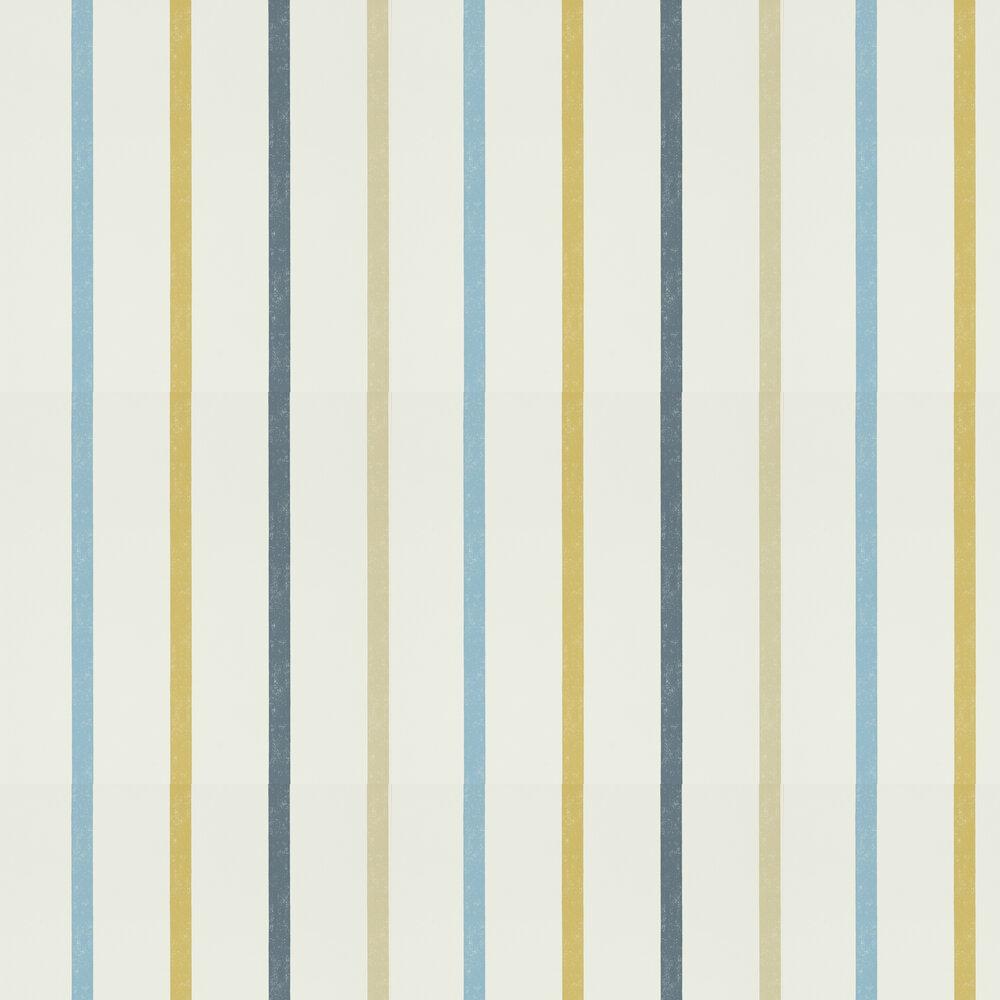 Scion Hoppa Stripe Cobalt, Almond and Midnight Wallpaper - Product code: 111115