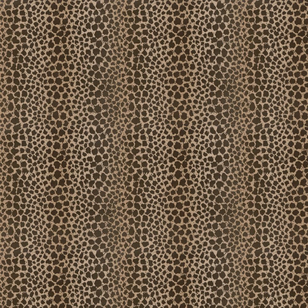 Sundra Flock Wallpaper - Bronze - by G P & J Baker
